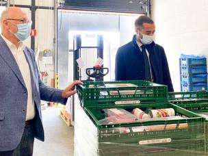 Nationale Loterij schenkt 500.000 euro aan Federatie van Voedselbanken