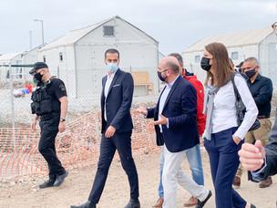 Relocatie asielzoekers uit Griekse kampen komt eindelijk op gang