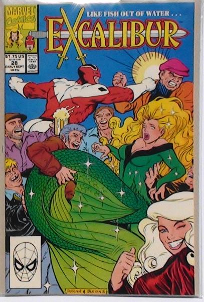 Vol 1 #28 Excalibur Sept 1990