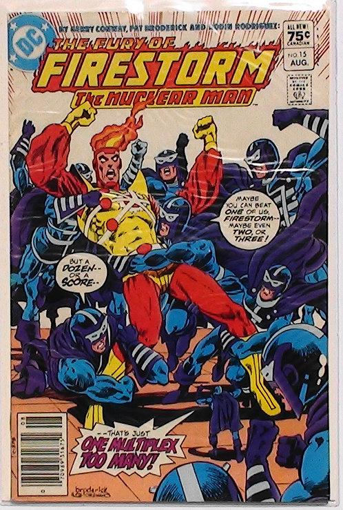 Vol 2 #15 The Fury of Firestorm Aug 1983