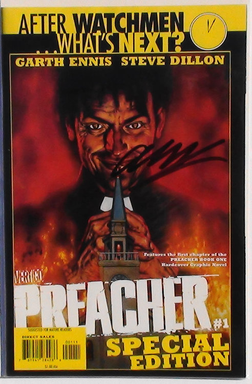The Time of the Preacher Signed by G. Ennis