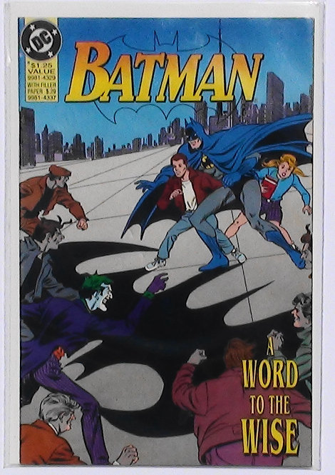 Batman A Word to the Wise- Zellers Promo