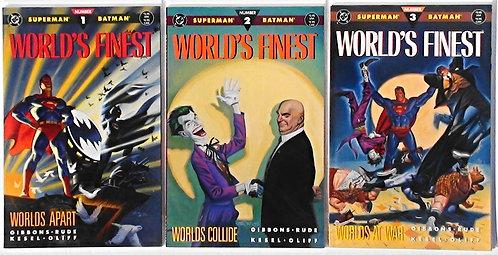 World's Finest #1-3 DC1990