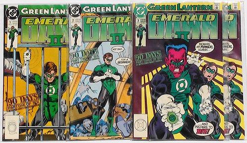 #1,2,3 Green Lantern Emerald Dawn ll 1991