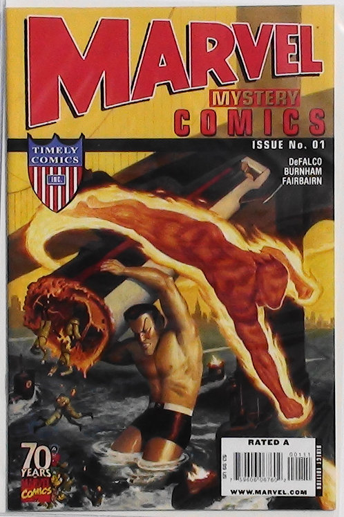 #1 Marvel Mystery Comics 70th Anni Special 2009