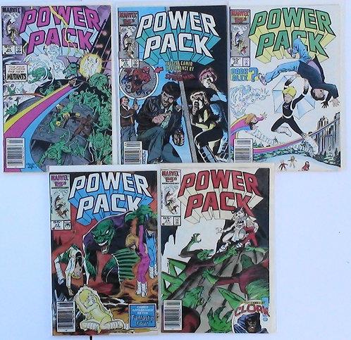 #20,21,22,23,24 Power Pack 1986