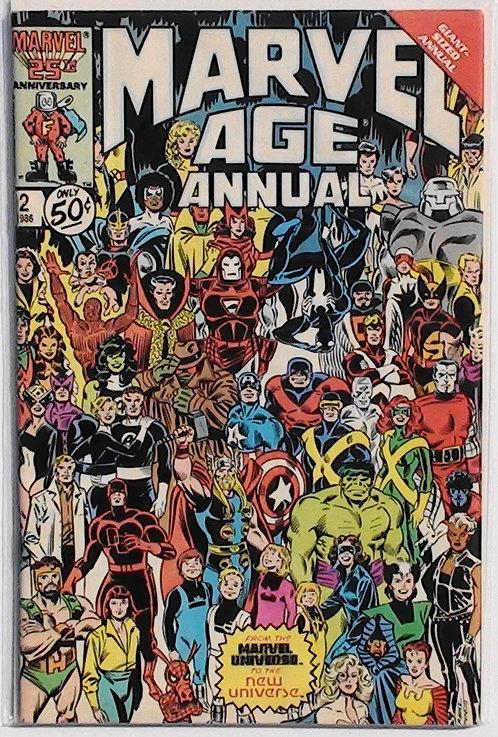 Vol 1 #2 Marvel Age Annual 1986