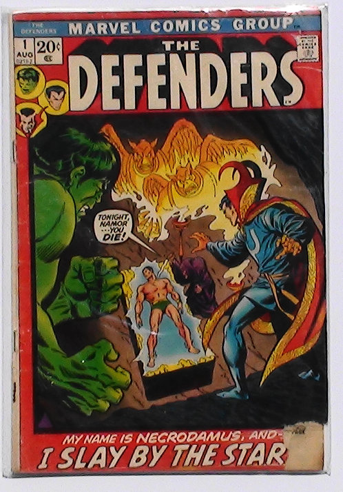 Vol 1 #1-5 The Defenders Aug 1972