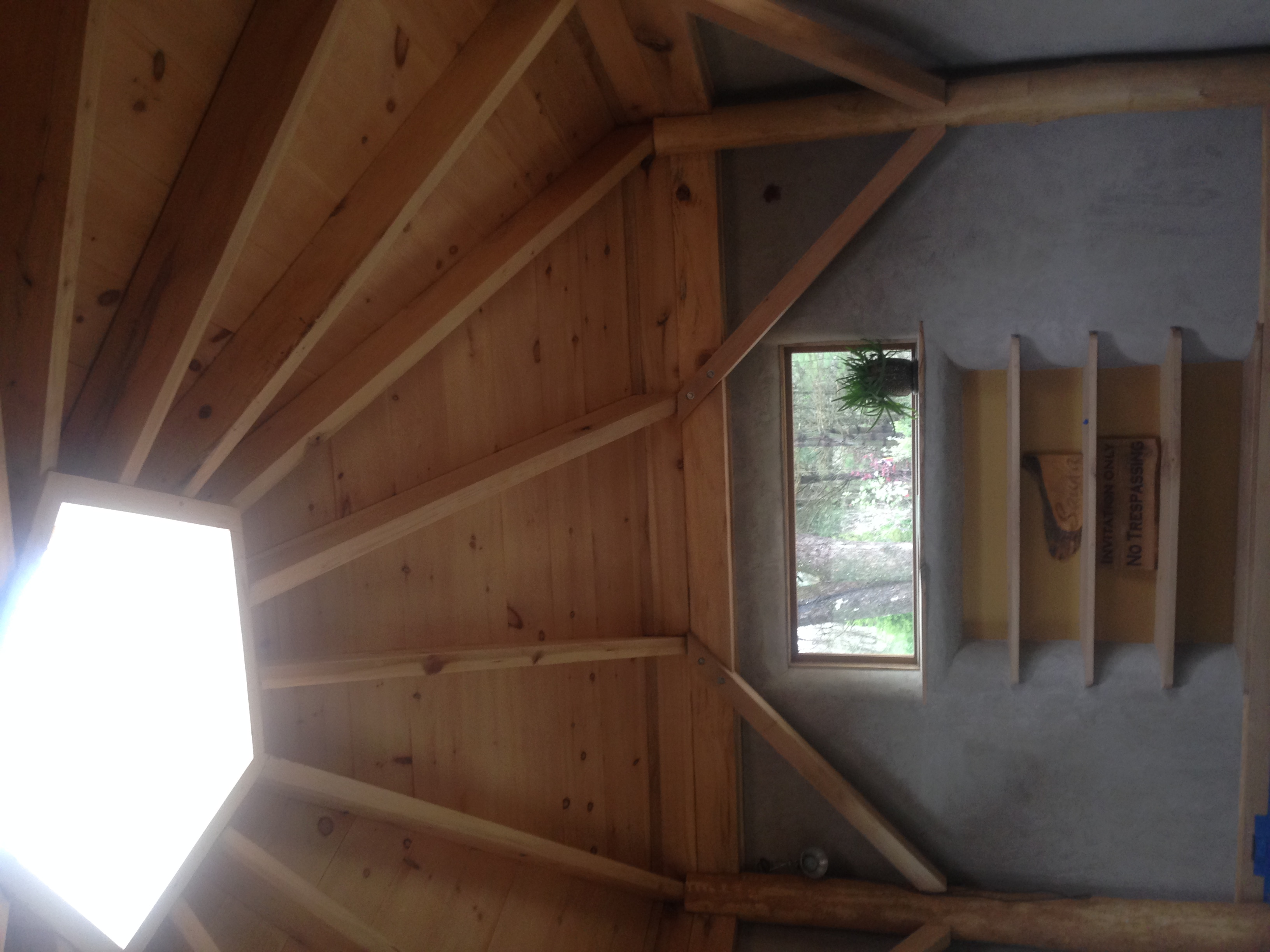 Roof insulated from outside