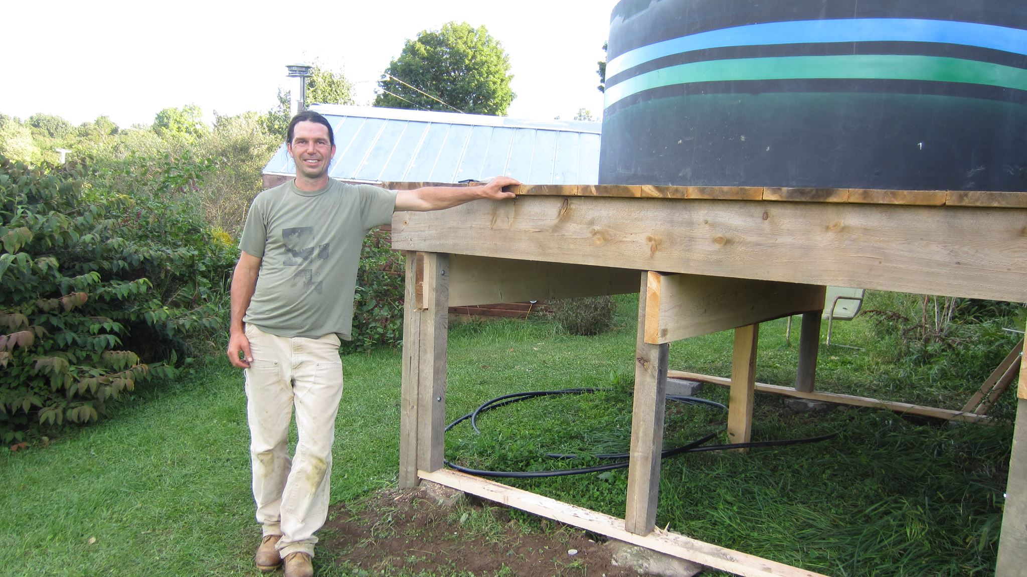1500 gallon rain tank