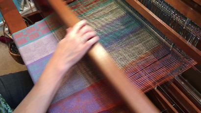 The music of the loom