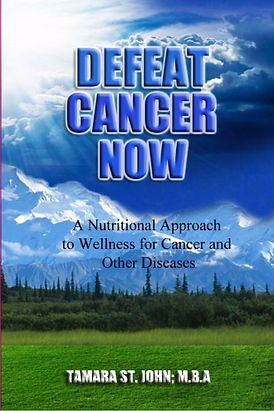 Defeat Cancer Now book