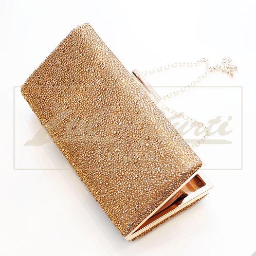 Gold Stone Clutch