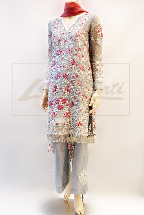 Ice & Rose Pink Trouser Suit