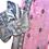 Thumbnail: Pale Lavender-Pink & Grey Sari