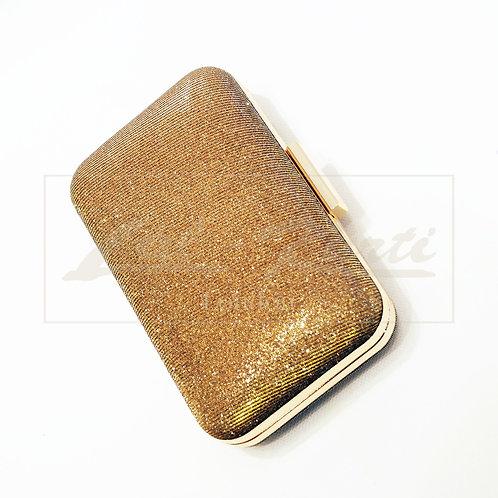 Dark Gold Clutch bag