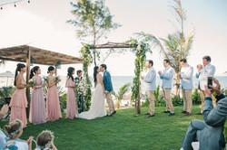 Beach wedding vietnam