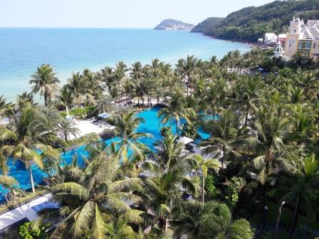 Vietnam beach wedding venue: JW Marriott Phu Quoc Island