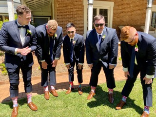 Wedding-socks-groomsmen-lynda-leith-cele