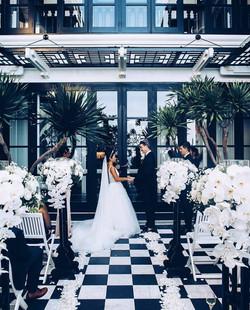 Wedding celebrant Intercontinental Resor