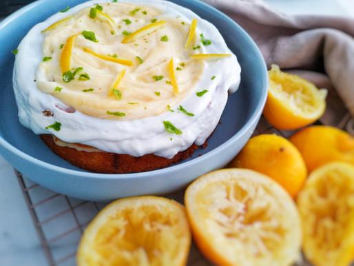 HEALTHY LEMON/AMANDES CAKE