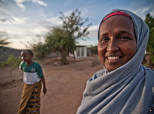 Romano Noor SIMAHO Director and midwife Mother of four Garissa, Northern Kenya