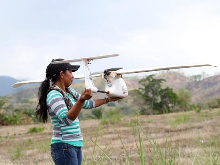 Indigenous people use drones to protect and manage the forest in Panama