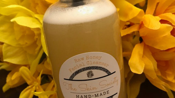 Raw Honey Facial Cleanser, 8 oz