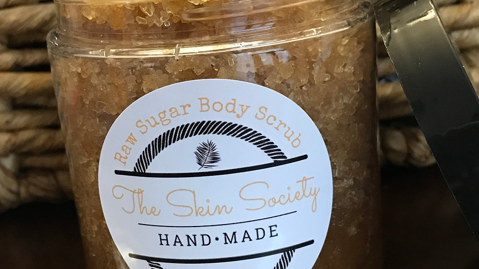 Raw Sugar Body Scrub
