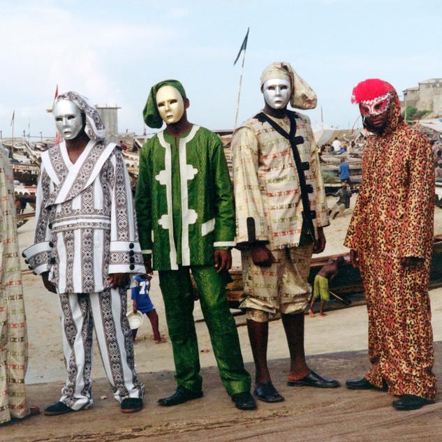 Jamestown Masquerade III, Godfried Donkor, 2018