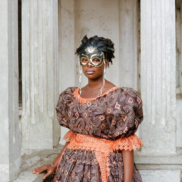 Jamestown Masquerade IV, Godfried Donkor, 2018