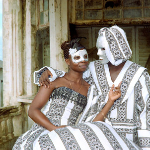 Jamestown Masquerade V, Godfried Donkor, 2018
