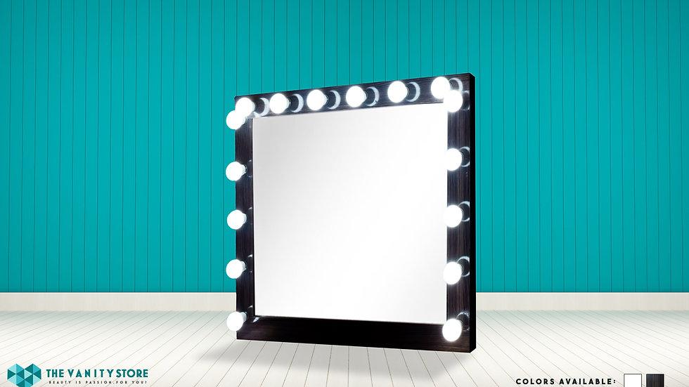Makeup Vanity Mirror (Brown)