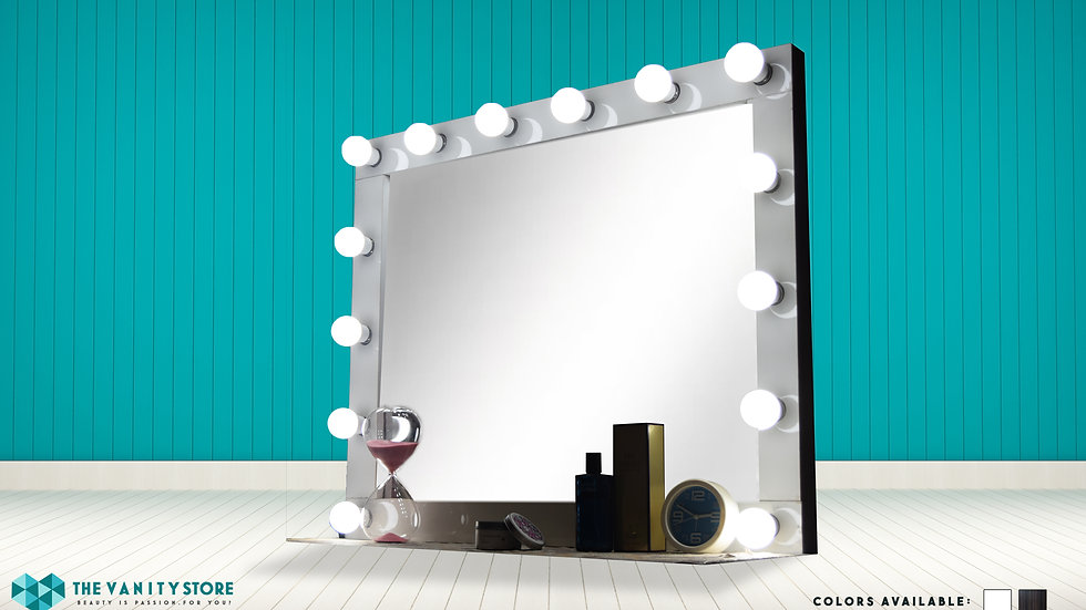 Makeup Vanity Mirror (White)