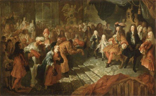 """Exposition """"Visiteurs de Versailles"""""""