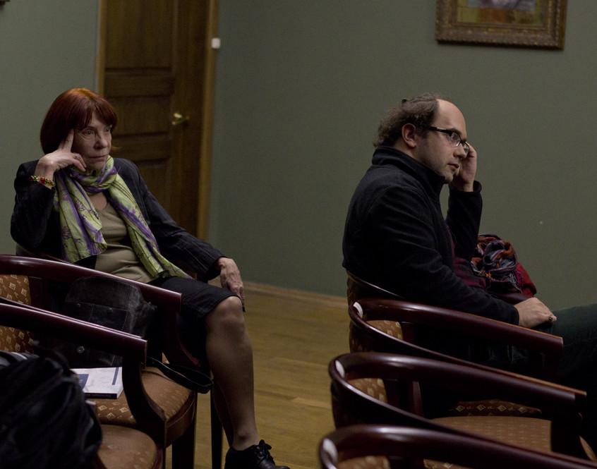 Ирина Ермакова и Иван Стариков