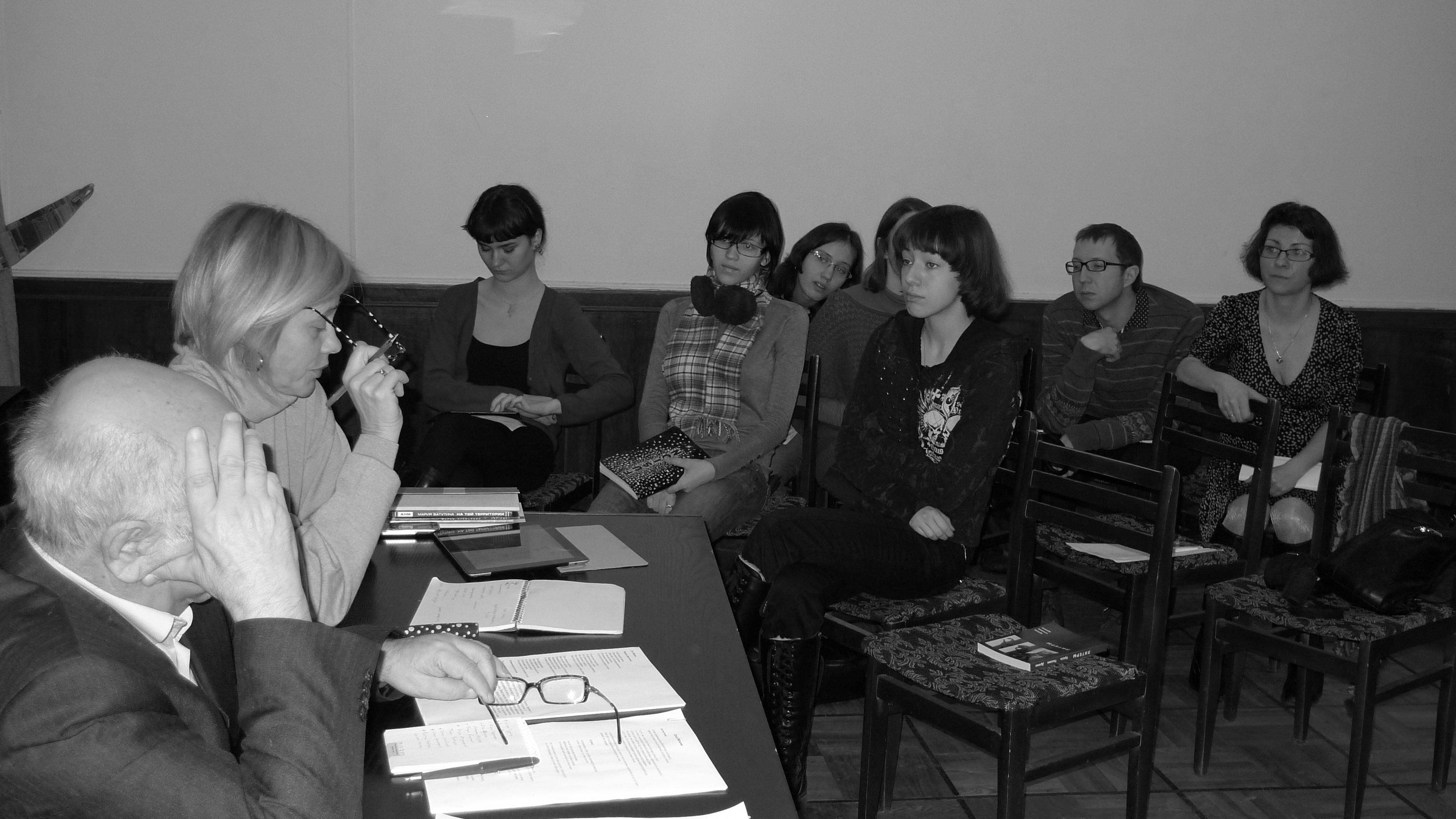Семинар поэзии 2012
