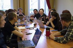 Критики в гостях у семинар прозы № 2