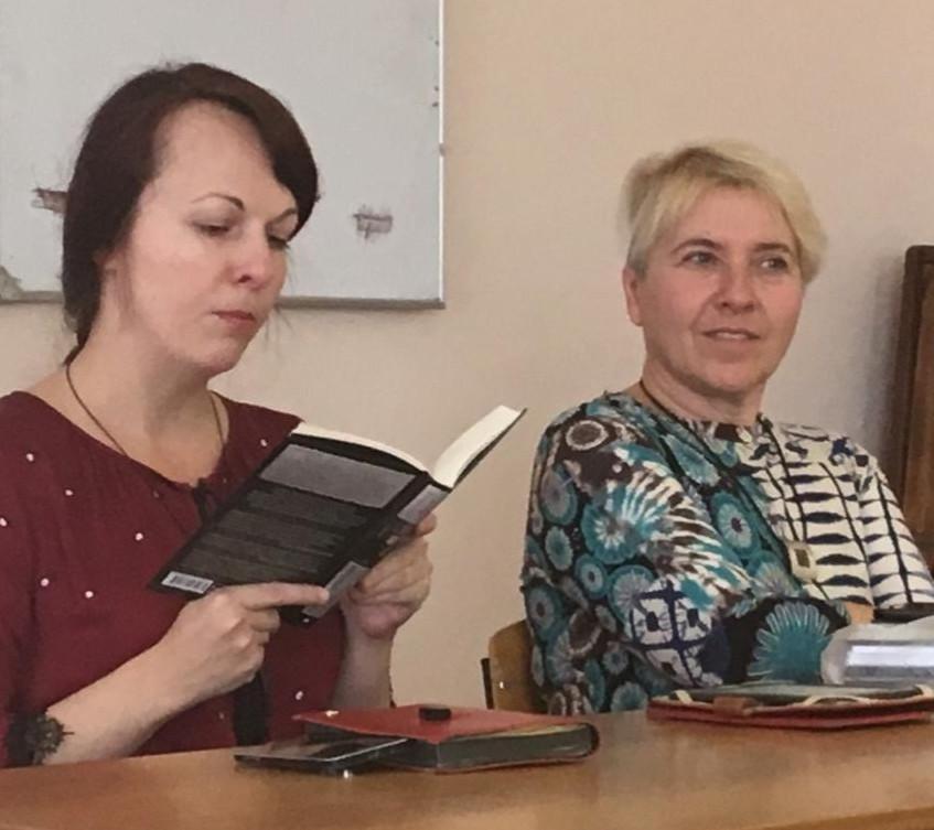 Дарья Бобылёва и Элина Сухова