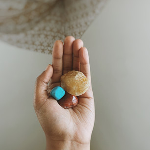 The Healing Stones I Use When I'm Creating