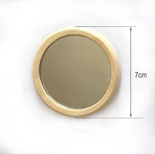 Specchietto in legno - personalizzabile