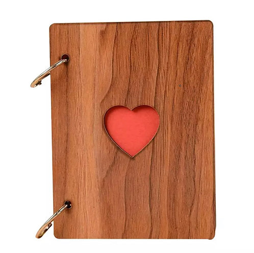 Album foto in legno