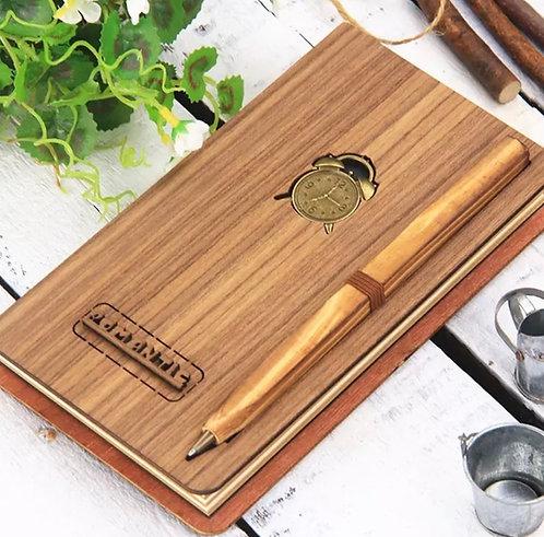 Diario in legno