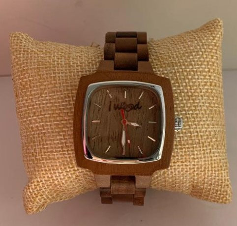 Orologio in Legno Full Wood Square Woman