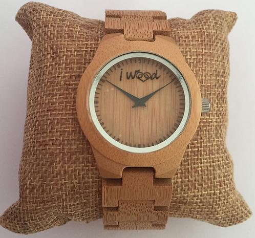 Orologio in Legno Full Wood Beige