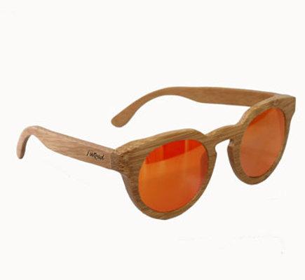 Occhiali da sole in legno modello Blow