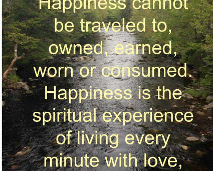 Striving For Happiness?
