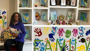 Seniors Creating Art Makes A Difference