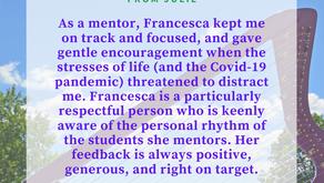 Mentoring Julie Through The Pandemic