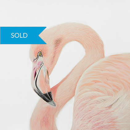 SOLD - Pretty in Pink- Flamingo